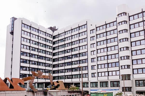 Hochhäuser Wiesbaden